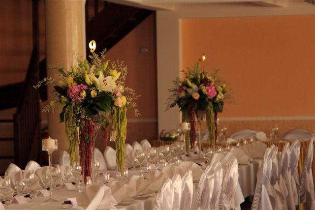Dekoracje sal weselnych