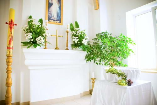 Dekoracja kościół