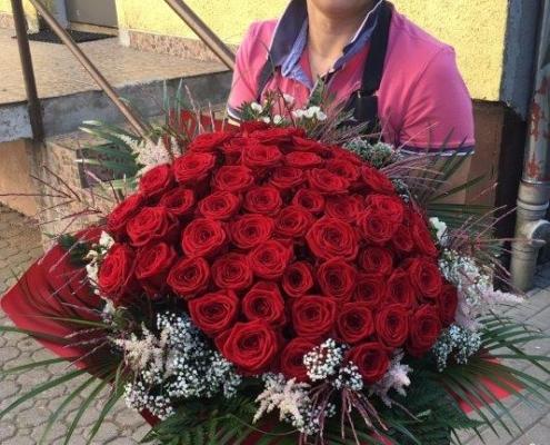 wiązanka z róż